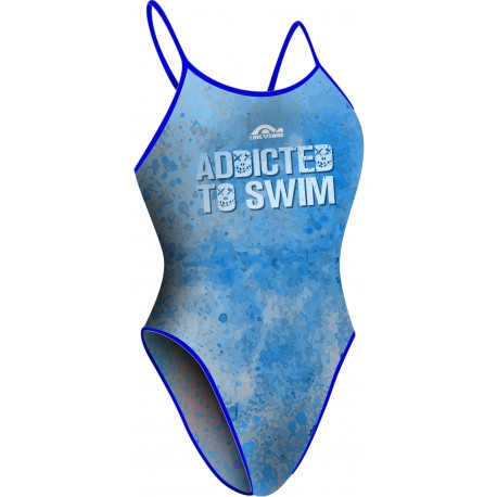 Bañador Chica TF ADDICTED BLUE