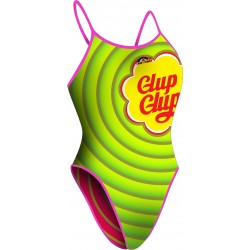 Women Swimsuit Wide Strip Glup Glups