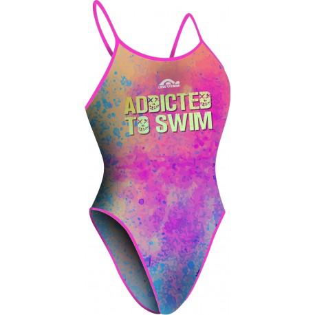 Costume da Nuoto Addicted.Modello Bretella Stretta