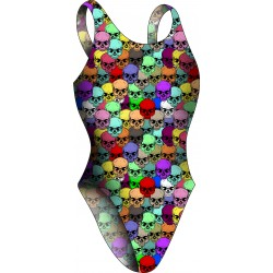 Women Swimsuit Thin Strip Mandala